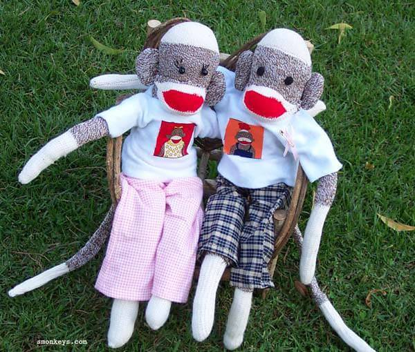 Conversations with the Kidlet Series….Sock Monkey Gets Lucky